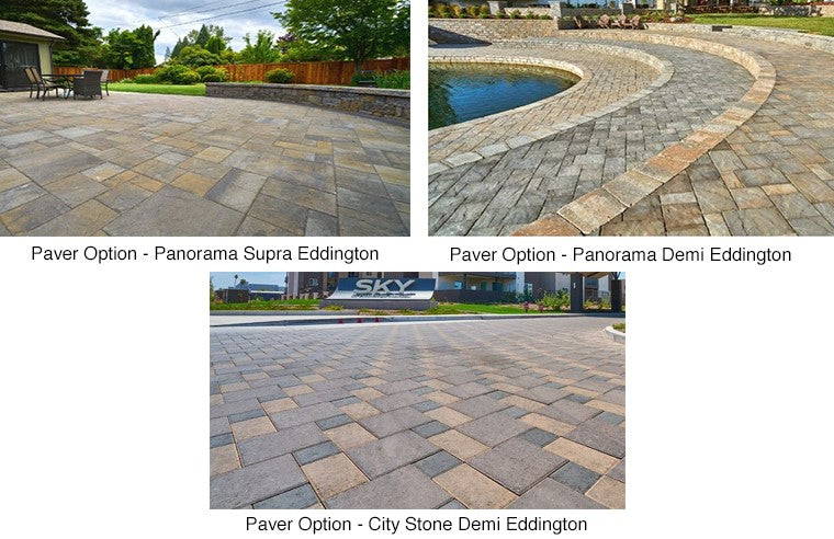 Paver Patio #A-028001-02