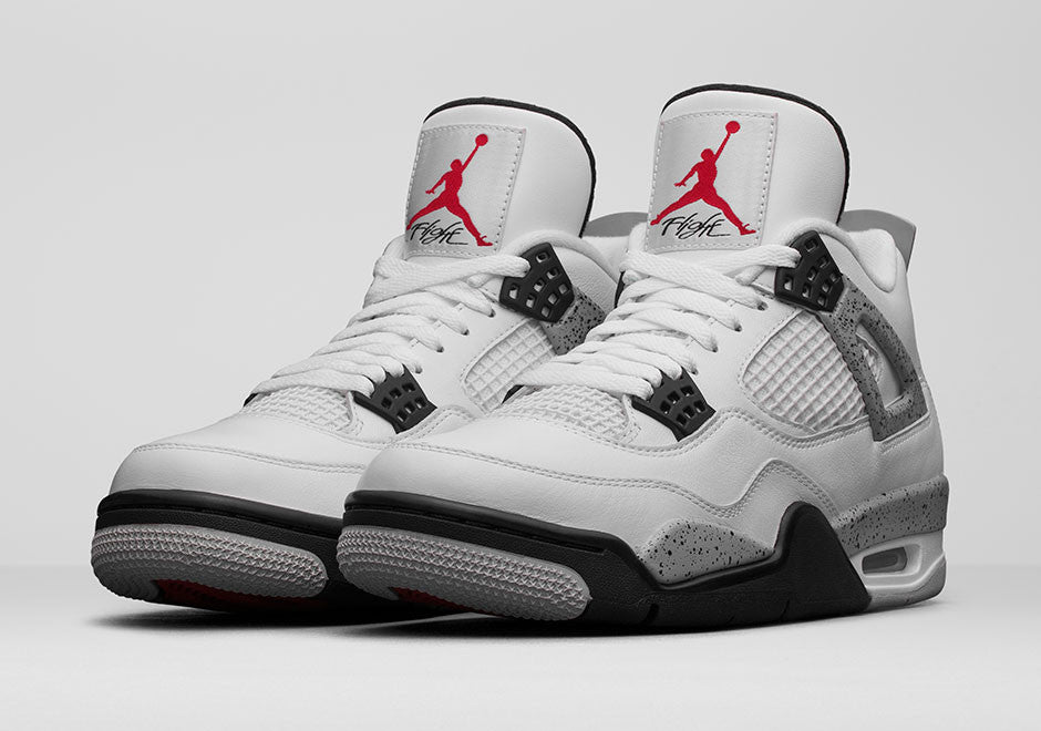Comment Obtenir Air Jordan 4 Ciment Blanc
