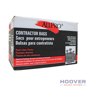 Contractor Bags (20) 3mil