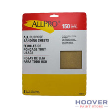 Load image into Gallery viewer, Allpro 9x11 Handy Pack All Purpose Sandpaper