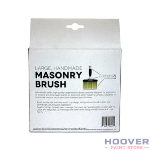 Large Masonry Brush