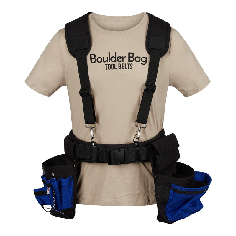 Boulder Bag Comfort Padded Suspenders (Tool Belt NOT included) - 527