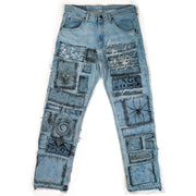 BLUE FRANKI DENIM MENS SIZE: 32