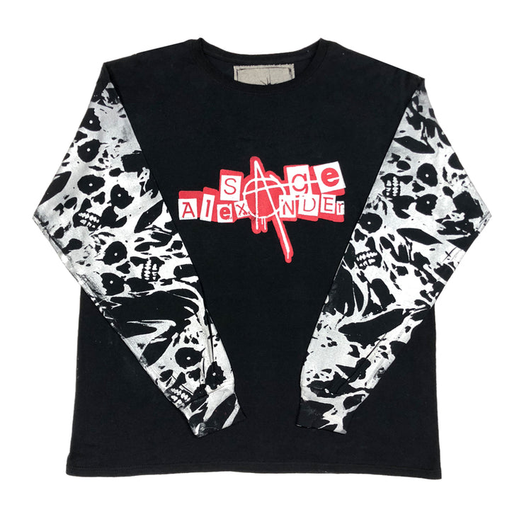 Logo Print Long Sleeve