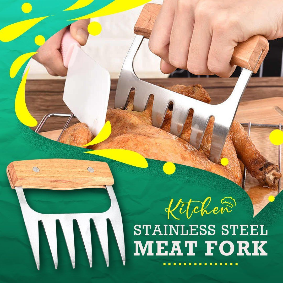 Kitchen Stainless Steel Meat Fork