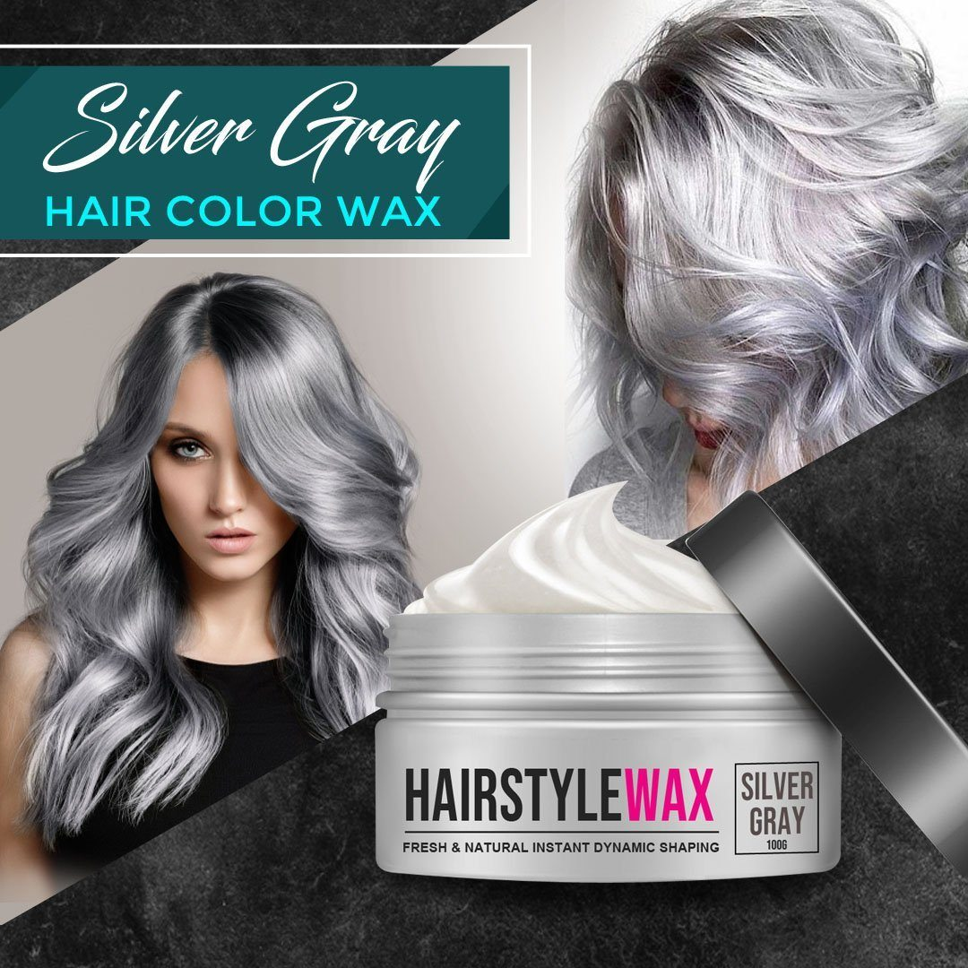 Silver Gray Hair Wax