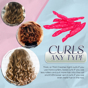 Magic Flexible Foam Hair Curler Set