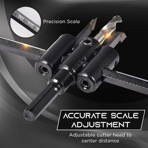 Adjustable Drill Bit Hole Cutter