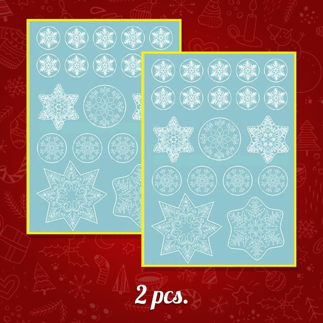 Christmas Snowflake Window Cling Stickers