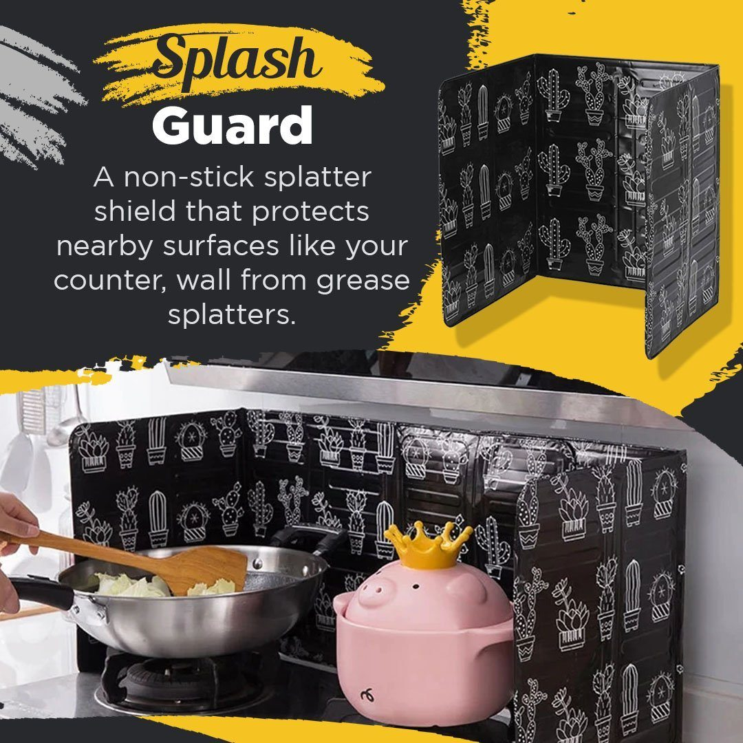 Kitchen Oil Splash Guard
