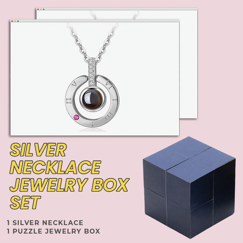 Message Ring, Necklace, Puzzle Jewelry Box