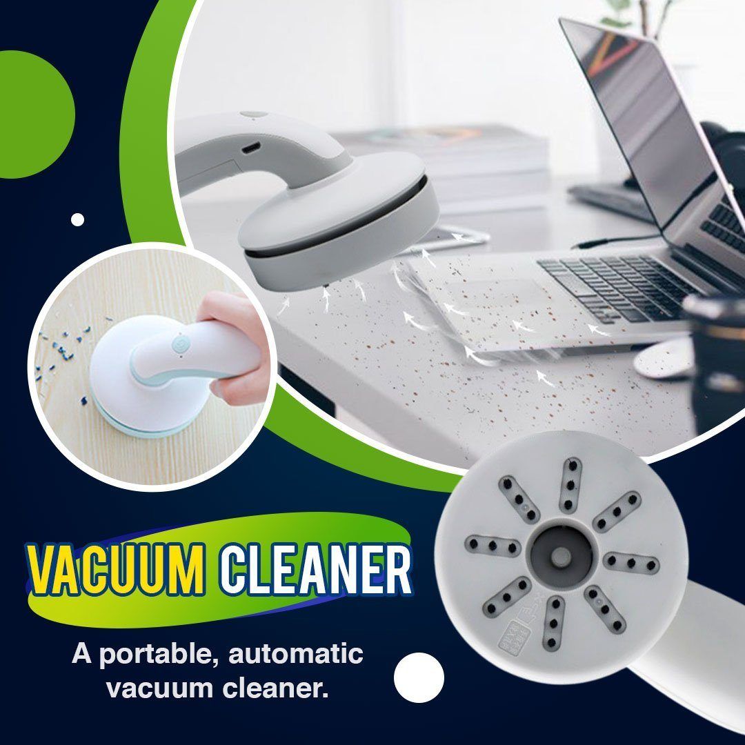 Portable Automatic Vacuum Cleaner