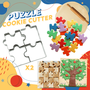 Puzzle Cookie Cutter (2 Pack)