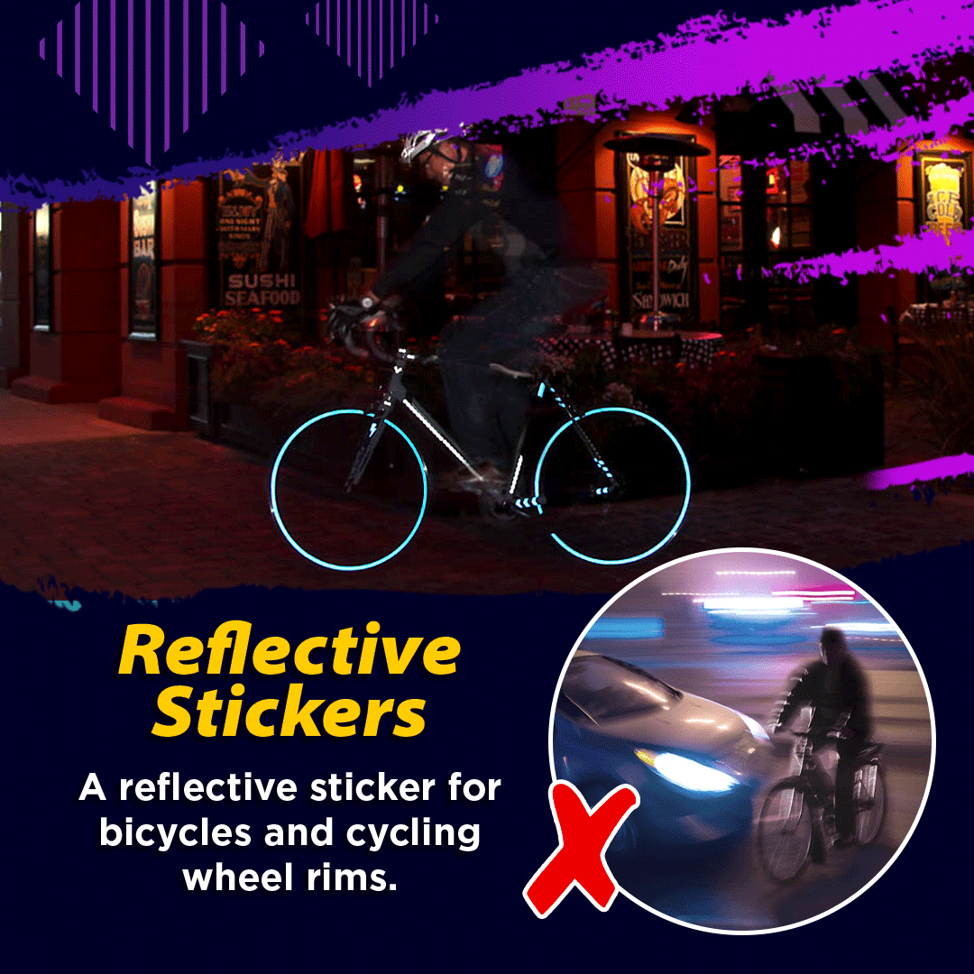 Bicycle Reflective Stickers