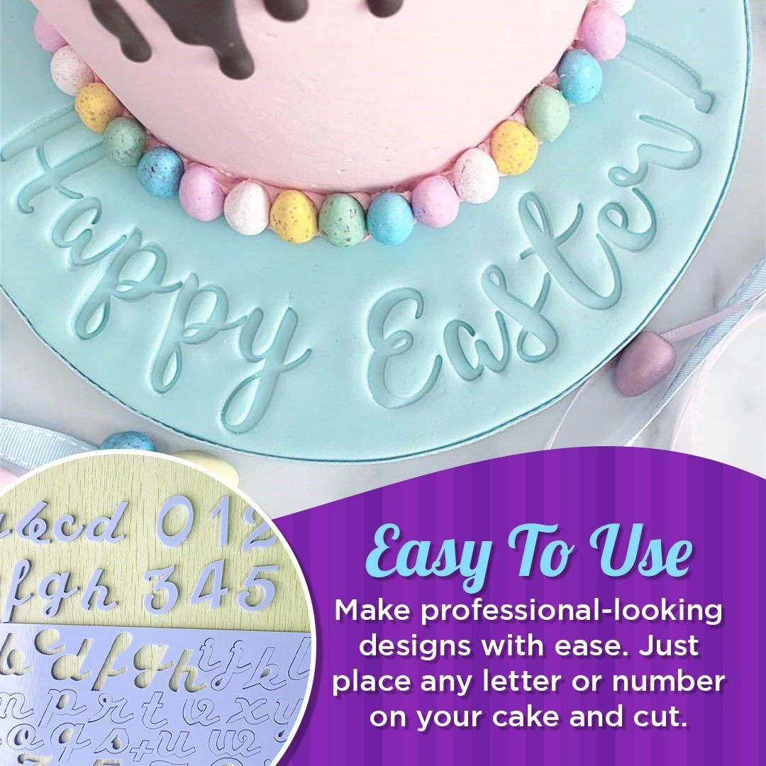 Acrylic Alphabet & Number Embossed Cutter