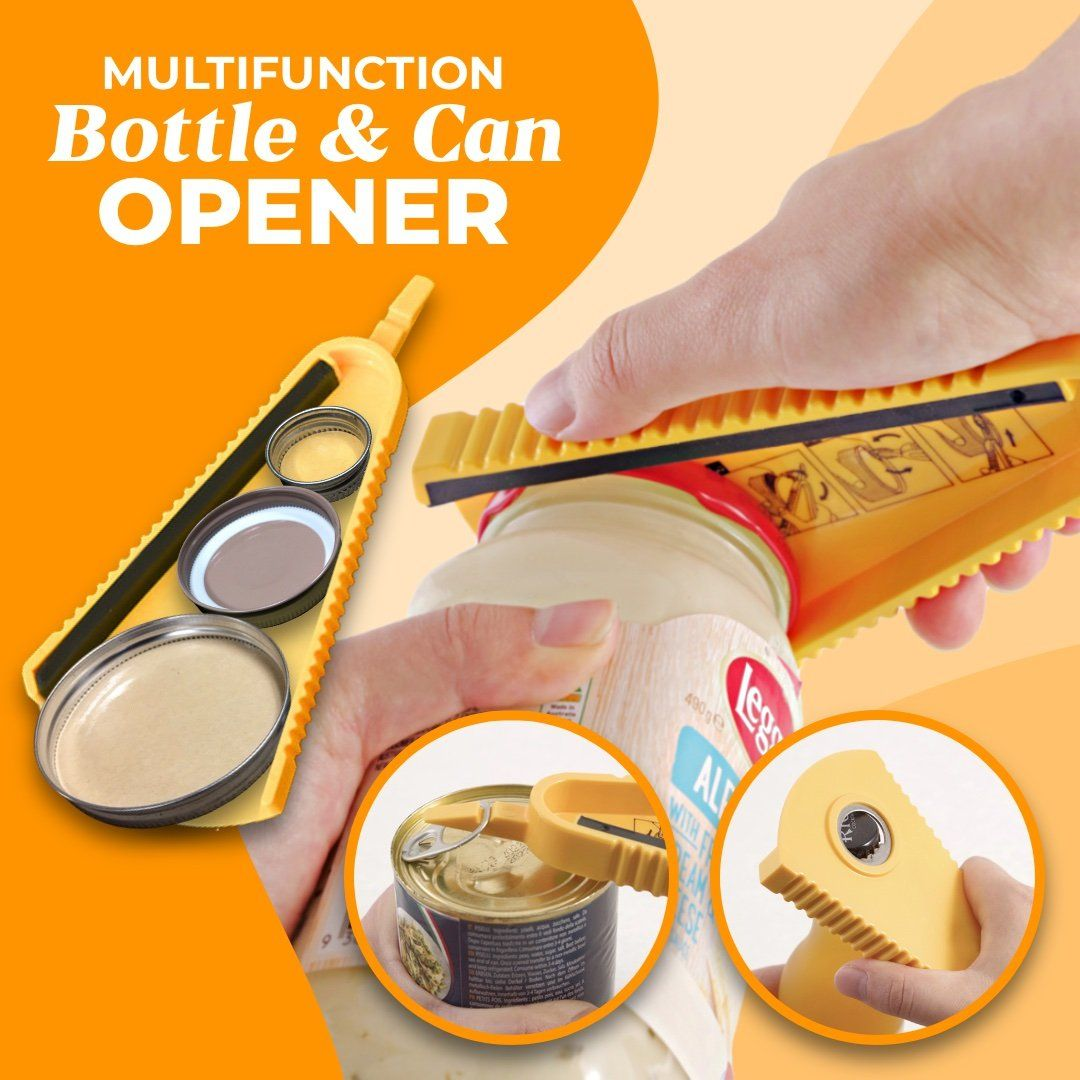 Multifunction Can and Bottle Opener