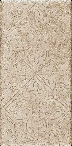"Happy Floors Pietra D Assisi 8"" x 16"" Deco Beige"