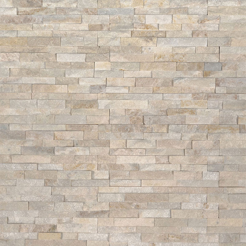 "MS International Mini Stacked Stone 4.50"" x 16"" Arctic Golden"