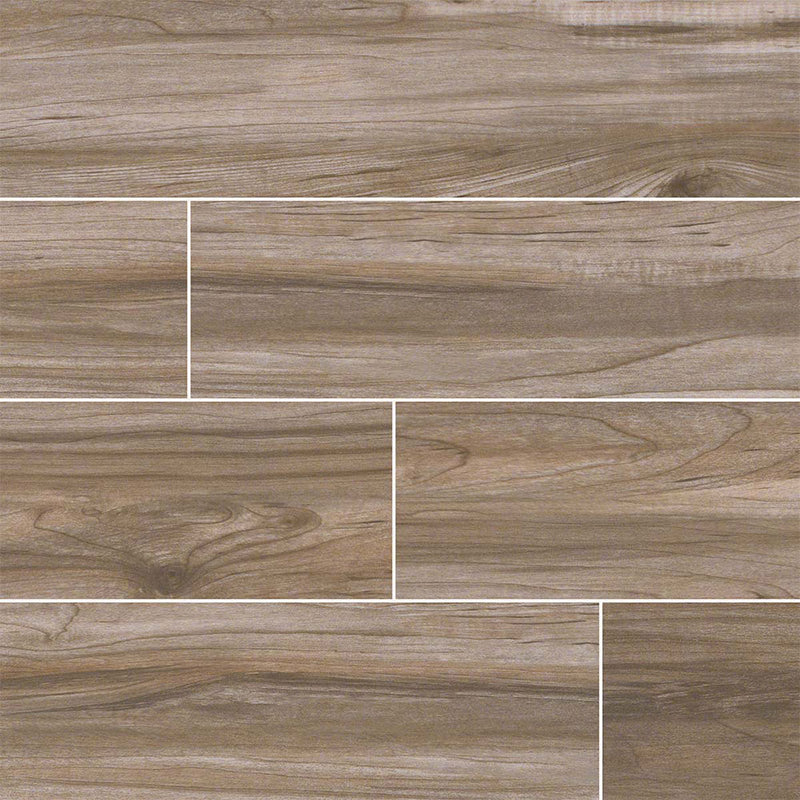 "MS International Carolina Timber 6"" x 36"" Beige"
