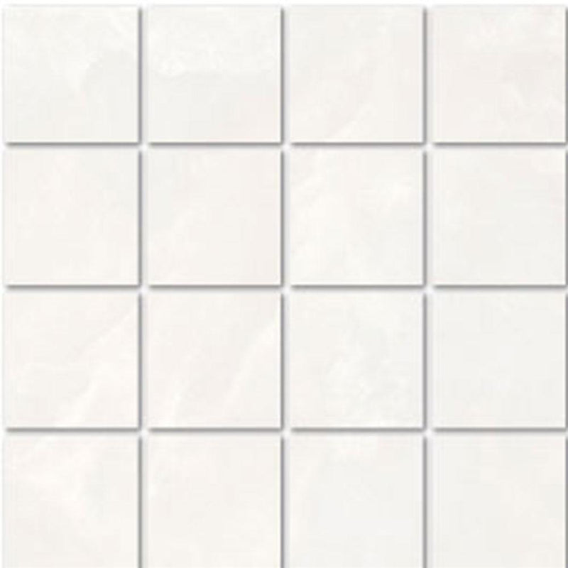 "Angel Collection Madras 3 x 3 12"" x 12"" Bianco Matte"