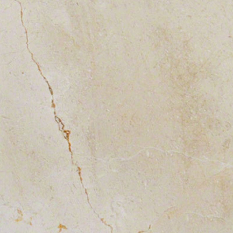 "MS International Marble 24"" x 24"" Crema Marfil Select .78 Polished"