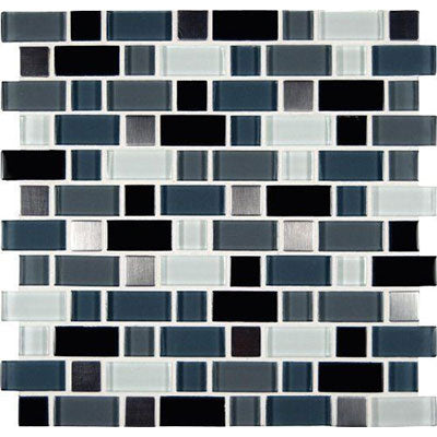 "MS International Decorative Blends 12"" x 12"" Crystal Cove Blend"