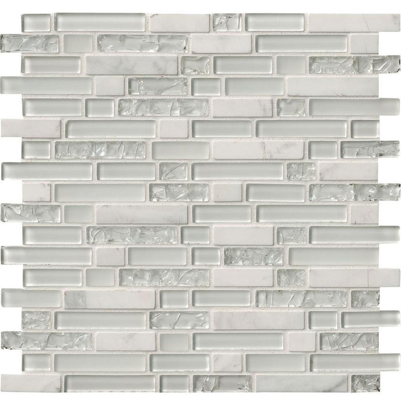 "MS International Decorative Blends 12"" x 12"" Delano Blanco"