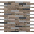 "MS International Decorative Blends 12"" x 12"" Diamante Brick"