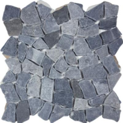 "Angel Collection Ocean Stones 11.05"" x 11.38"" Gray"