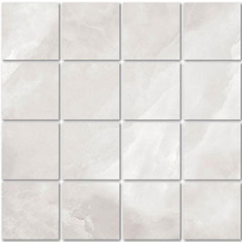 "Angel Collection Madras 3 x 3 12"" x 12"" Grigio Polished"