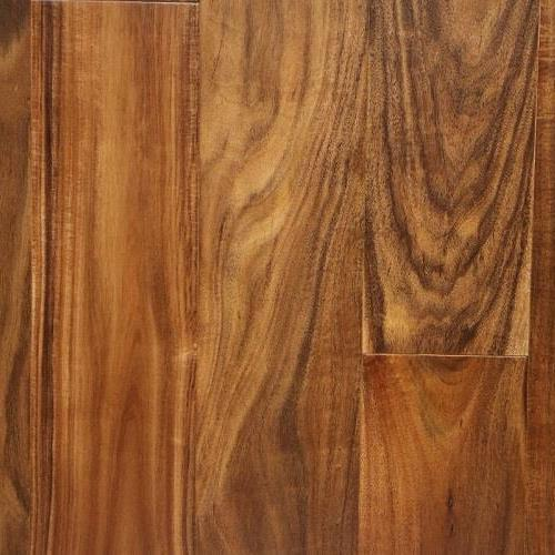 "Nuvelle Acacia Smooth Finish Bordeaux 4.75"" x RL Acacia Natural"