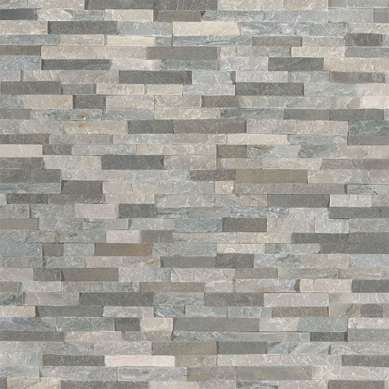 "MS International Mini Stacked Stone 4.50"" x 16"" Sierra Blue"