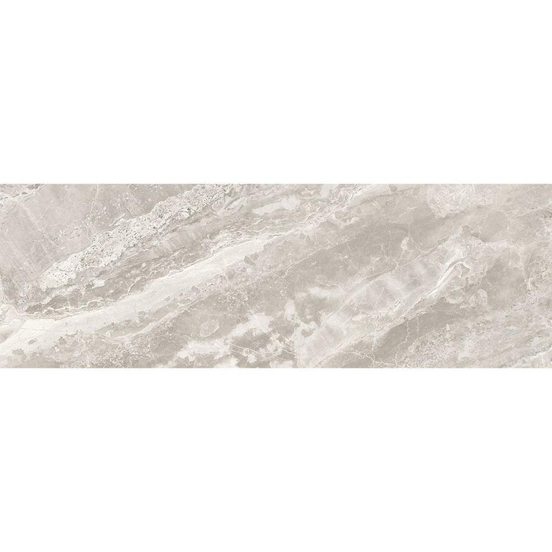 "Angel Collection Mayfair 4"" x 12"" Stella Argento Polished"