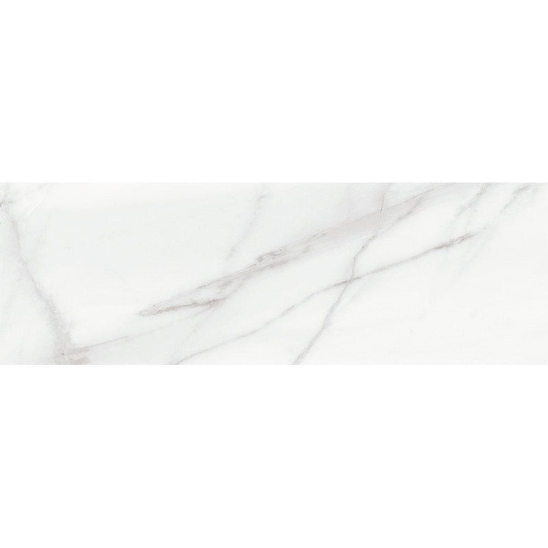 "Angel Collection Mayfair 4"" x 12"" Volakas Grigio Polished"
