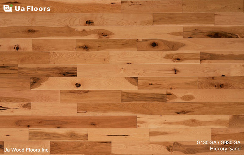 "Ua Floors Grecian Collection 3.56"" x RL Hickory Sand"
