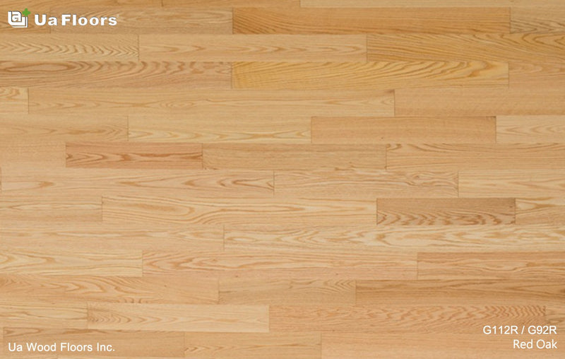 "Ua Floors Grecian Collection 3.56"" x RL Red Oak"