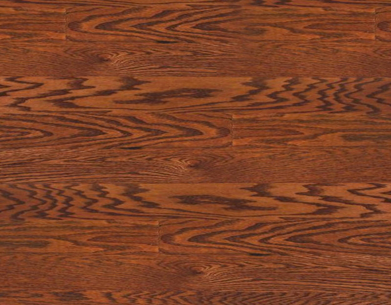 "Angel Collection Oak Street 5"" x RL Butterscotch Red Oak"
