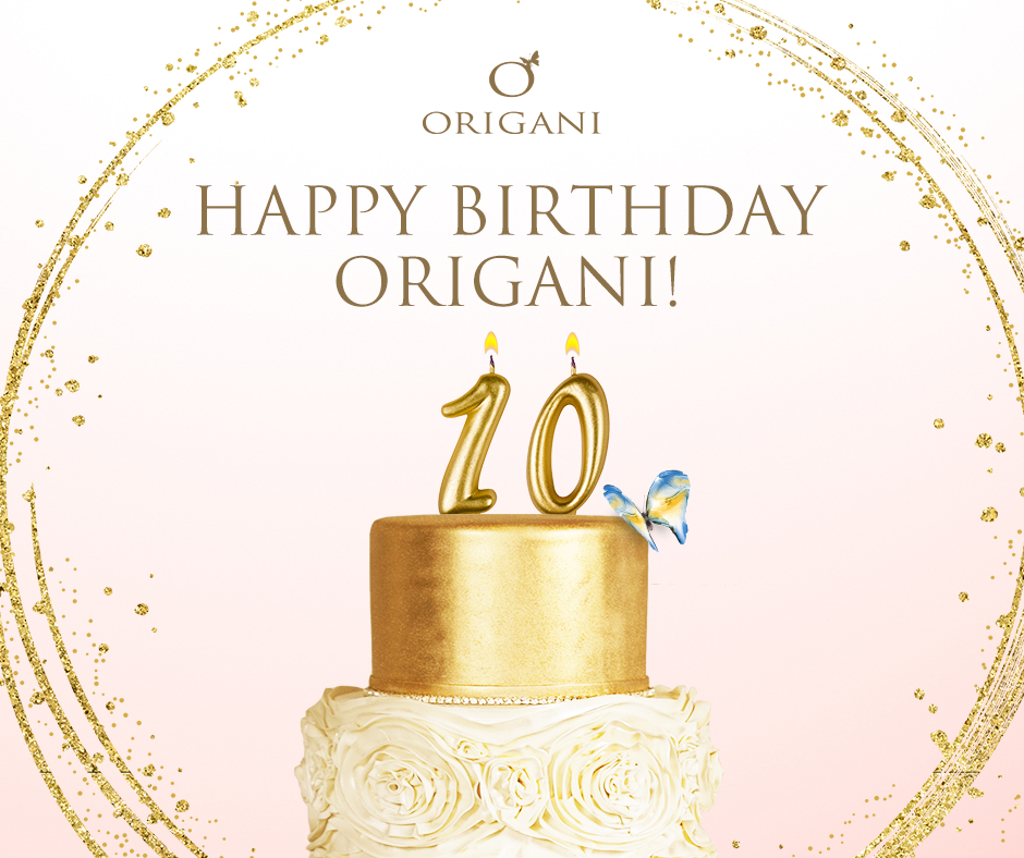 HAPPY 10TH BIRTHDAY ORIGANI: Australia's Finest Luxury Organic Skincare