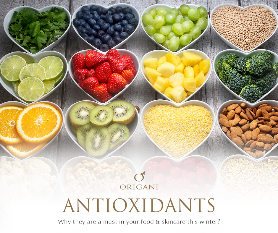 Antioxidants: Why They Are a Must in Your Food And Skincare This Winter!
