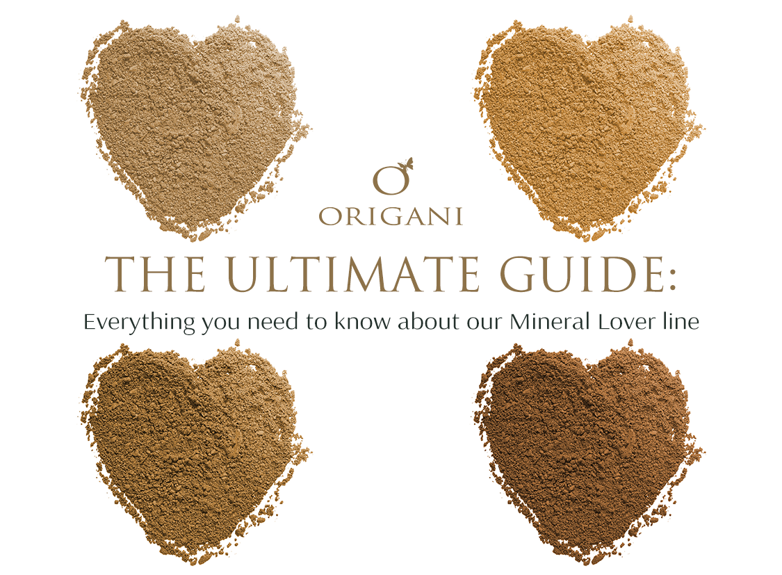 Clean Colour: The Ultimate Guide to Origani's Mineral Lover Range
