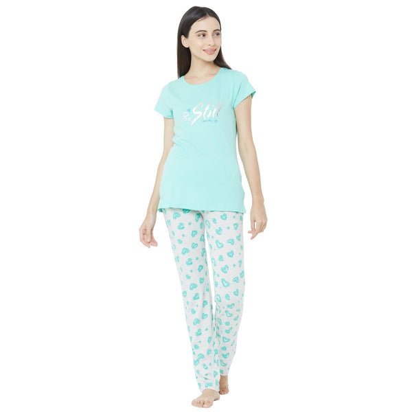Be Still Green Pajama Set