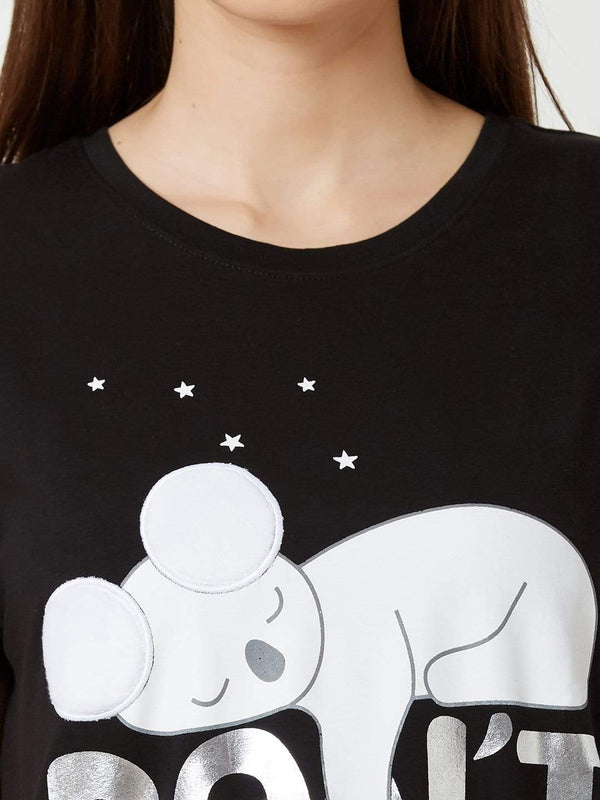 Sleepy Koala Short Nighty