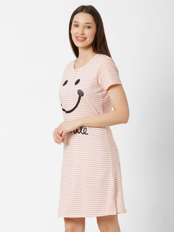 Cheerful Striped Nightdress