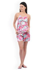 Flower Power Shorts Set