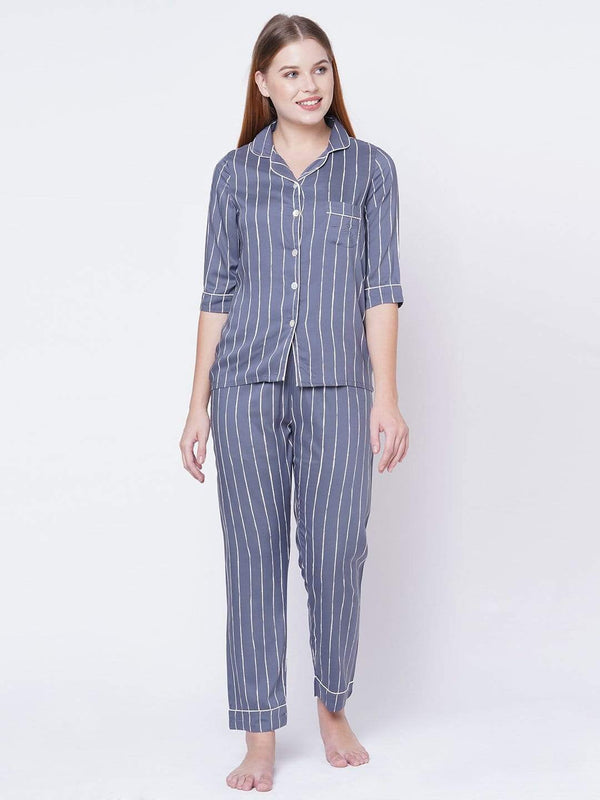 Striped Away Pyjama Set