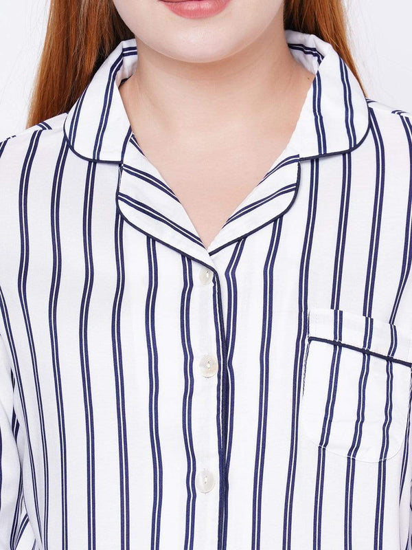 Striped crazy pyjama set