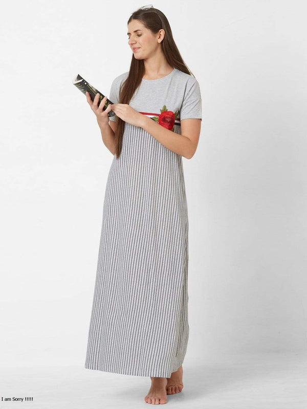 Guns and Roses Maxi Nightdress
