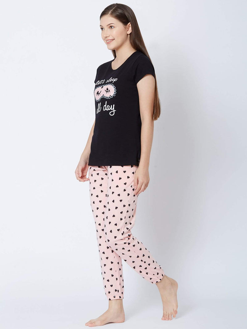 Sleepy Hearts Pyjama Set