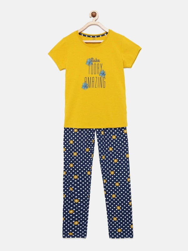 Sunflower Pyjama Set