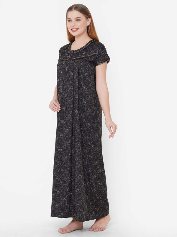 Slumber Hues Maxi Nightgown